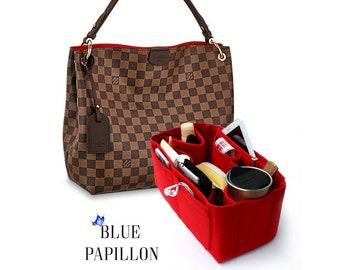 cbd66784d Louis vuitton organizer, graceful pm organizer, bag purse organizer, bag  purse insert, bag in bag insert, insert graceful, felt bag insert,