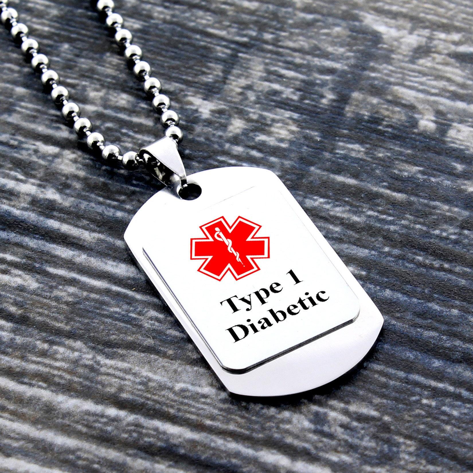 Medic Alert Necklace: Medical Alert Necklace Medical Alert Jewelry Medical ID