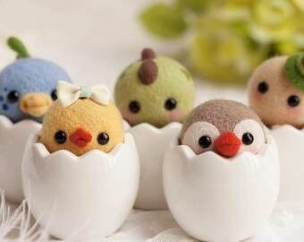 Needle felting kit - Hatchling bundle