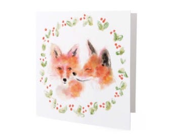 Merry Christmas, you fine fox - Holiday Card