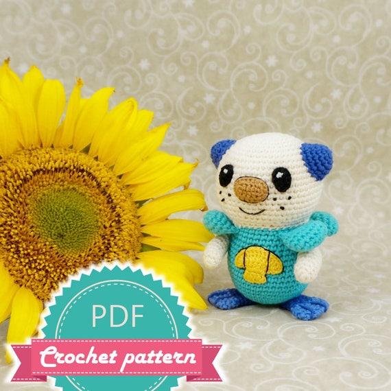 Pokemon Oshawott Crochet Pattern Amigurumi Crochet Pattern Etsy