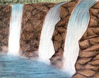 Alaskan Waterfalls