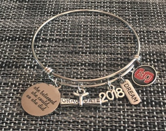 d17981676 North Carolina State Wolfpack 2018 Graduation Women's Bangle Bracelet