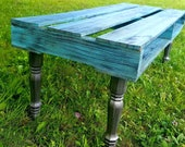 FREE SHIPPING Pallet table pallet coffee table pallet bench pallet coffee bench decorative pallet distressed pallet table bedroom ornate