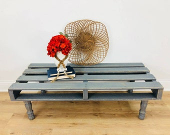 FREE SHIPPING Pallet Table Pallet Coffee Table Pallet Bench Pallet Coffee/bench  Decorative Pallet Distressed