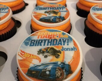 Hot Wheels Cake Etsy