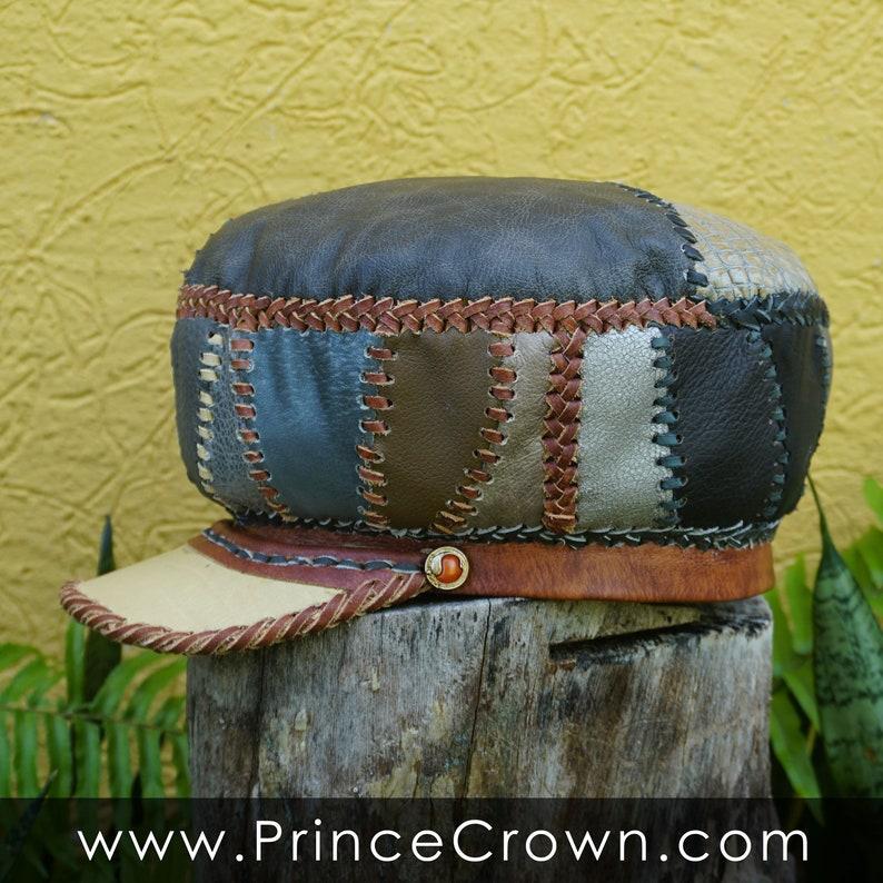 Geniune Leather Rasta Dreadlocks Crown  RASTA LOXLEY SERIES  image 0