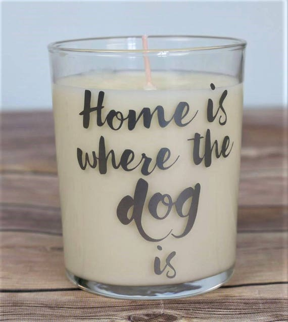 Candle Dog Gifts Gift For Dog Lover Gift For Animal Etsy