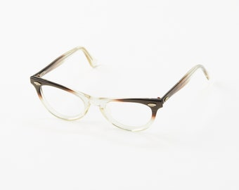 c321e5a05f0a Vintage American Optical Eye Glasses Frame / Cat Eye Glasses / Angular  CatEye / Pin Up Style