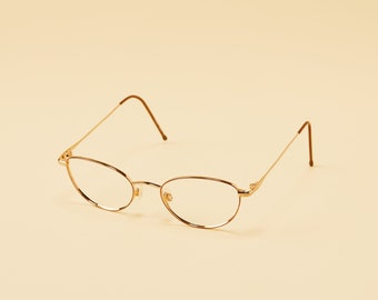 7dcc37bac44d Vintage Marchon Frame - Womens Petite Metal Frame - Petite Bronze Frames - Librarian  Style - Small Glasses