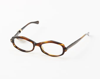 2a54fe3da0 Vintage Hexagonal Eye Glasses   Tortoise   Martin Wells
