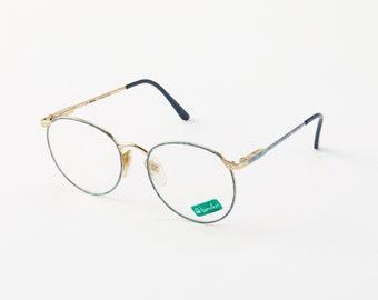 8d28f3e37036 Vintage Marchon Disney Round Eye Glasses   Round Metal Eyeglass Frame    Retro Style Glasses   Vintage Disney