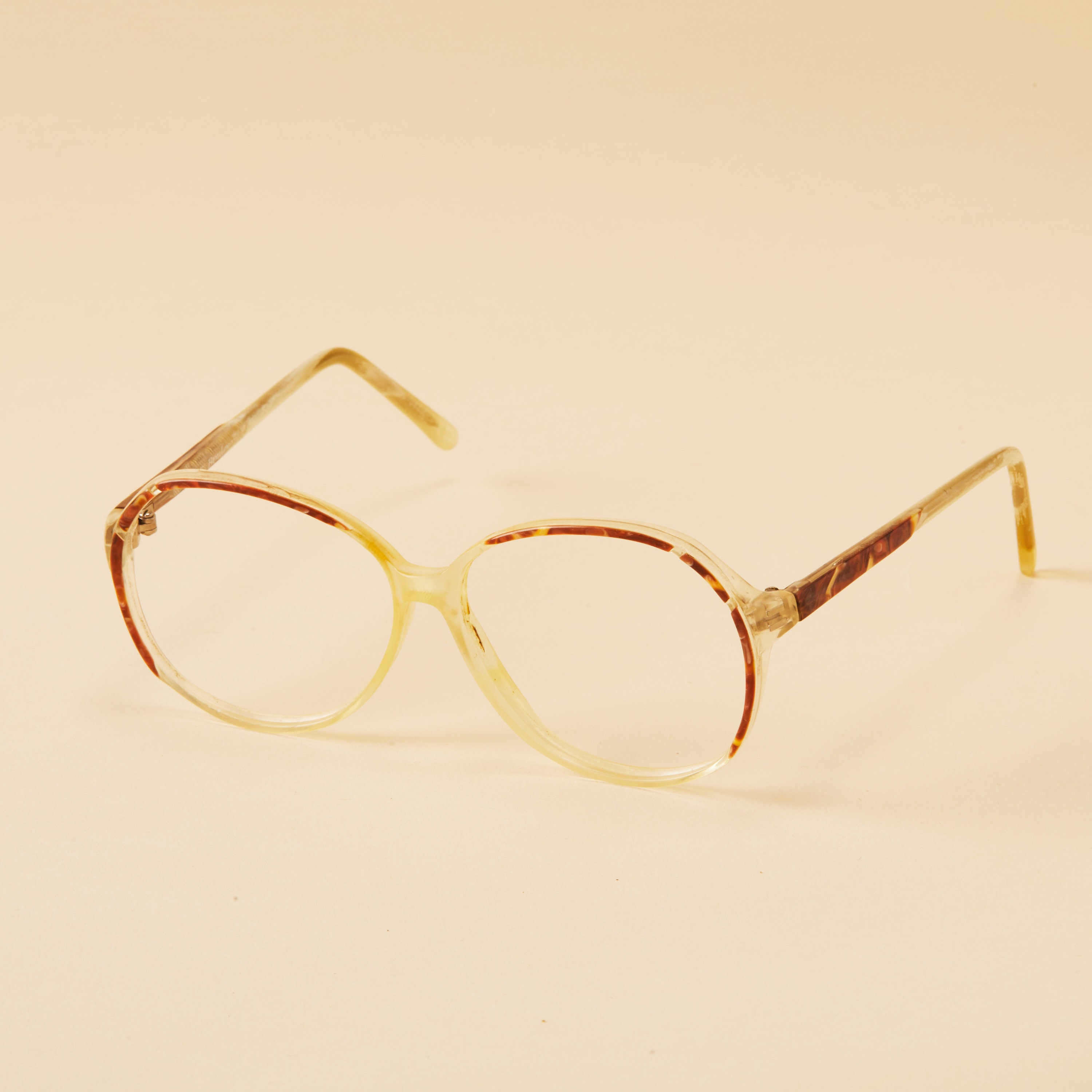 a04fe1d6e33 Vintage Oversized Frames Wilshire Designs Pink Yellow