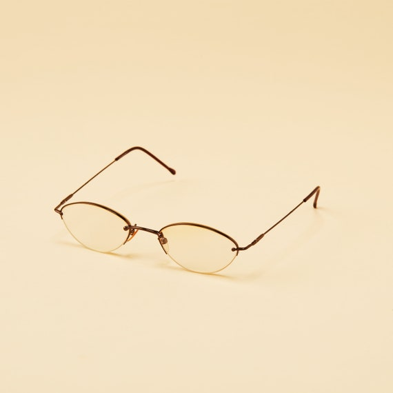 7b798faaa85a ... Vintage Covergirl CG117 Rimless Cat Eye Frame - 90 s Rimless Cat Eye Women s  Frame - Vintage