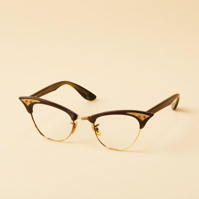 142c945e745f0 Victory Optical Company Cat Eye Frames Clubmaster Horn Rim