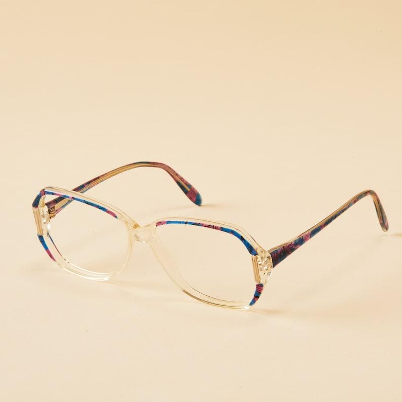 675f6c0fdd9d3 Vintage Plastic Eyeglass Frame Gitano USA Gradient Plastic
