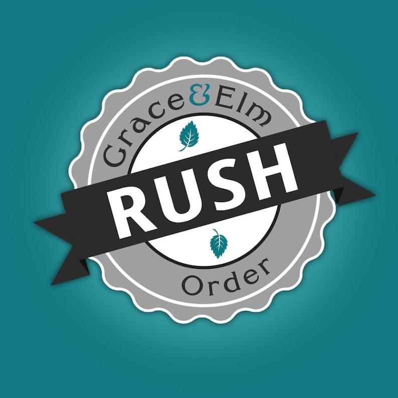 Rush Order  Rush Order Fee  Rush Upgrade   Rush My Gift  image 0