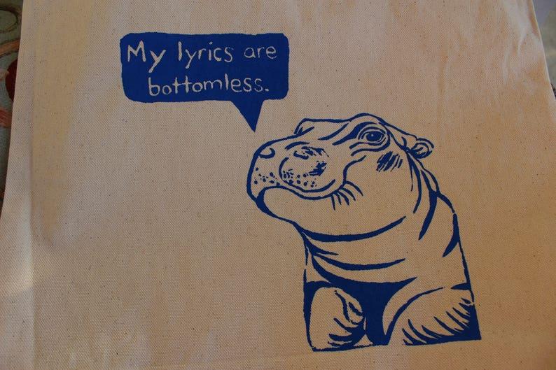Fiona the Hiphopopotamus Tote