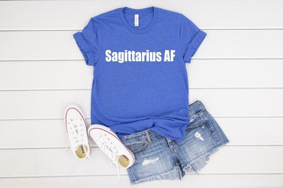 Sagittarius Star Sign Zodiac Signs Astrological Women t-shirt Ladies Tee Black