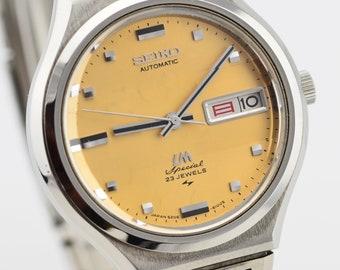 0c7d5084d98 1972 Seiko LM Seigneur Matic spécial cuivre cadran de montre desservi  5206-6090     magnifiquement entretenu Citizen Watch     Mid taille JDM  Vintage Watch