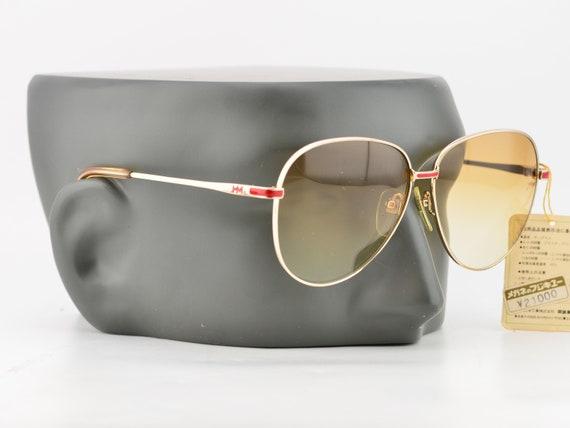 80s Paco Rabanne Eyewear Brushed Gold Oversized Br