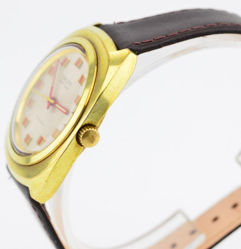 31bef80a64e Vintage Vintage Gruen précision 17J or mécanique Suisse Date