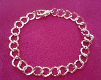 Bracelets clasp clasp silver colored 19 cm