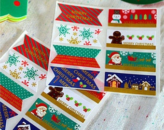 Christmas tags-stickers