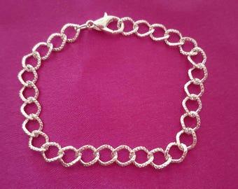 Bracelets clasp clasp silver colored 19cm