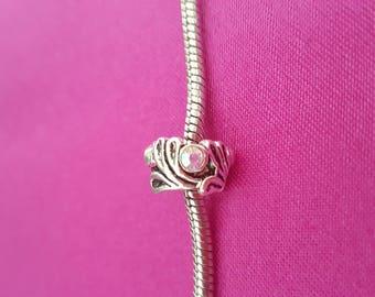 Rhinestone Charm Bracelet beads