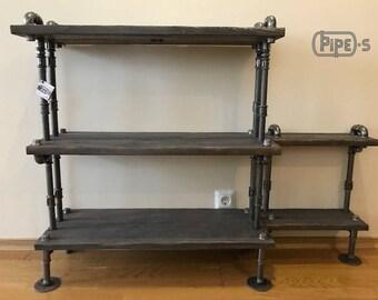 Loft Style Shelves   Etsy