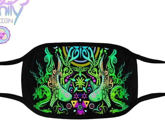 SACRED BUTTERFLY Rave Mask