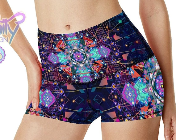 CELESTIAL CIRCUITRY Booty Shorts Women
