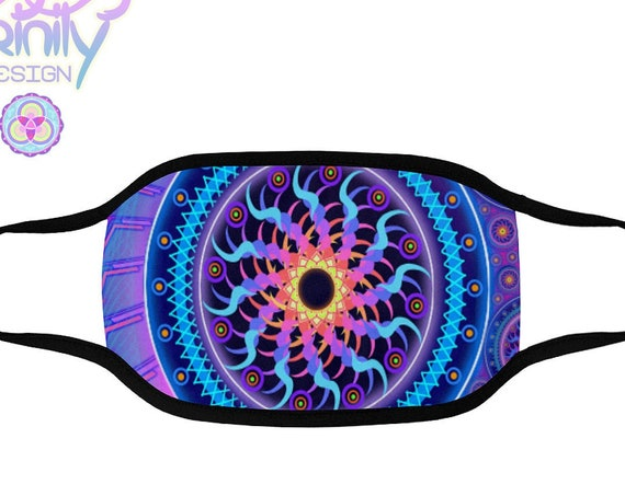 BLACK SUN Rave Mask