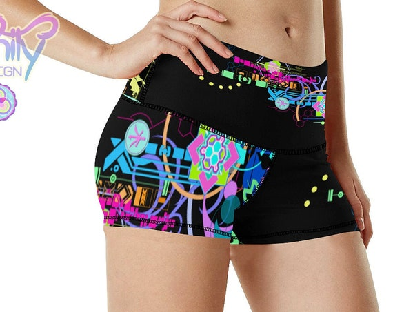 HYPER TECH Booty Shorts Women