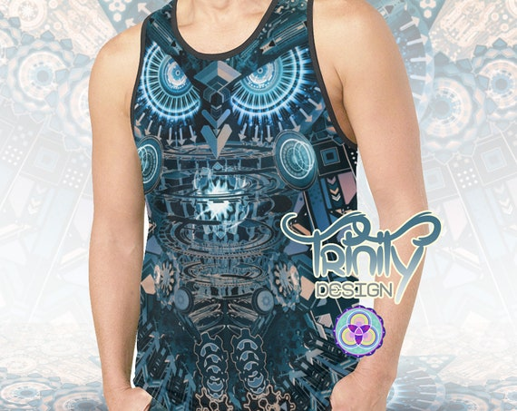 ALL SEEING OWL Tank Top