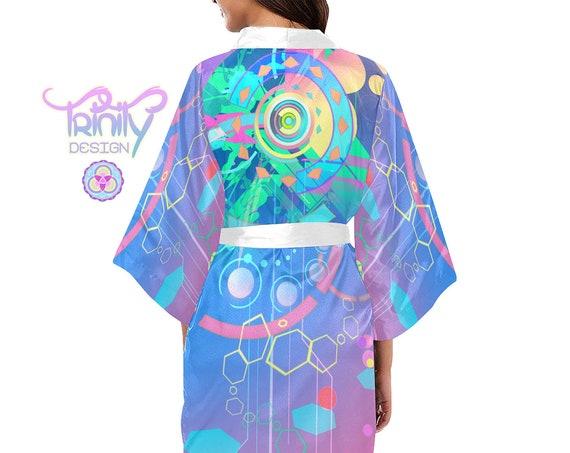 BUBBLEGUM CRASH Kimono Robe