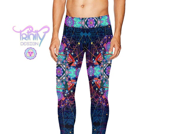 CELESTIAL CIRCUITRY Men's Leggings