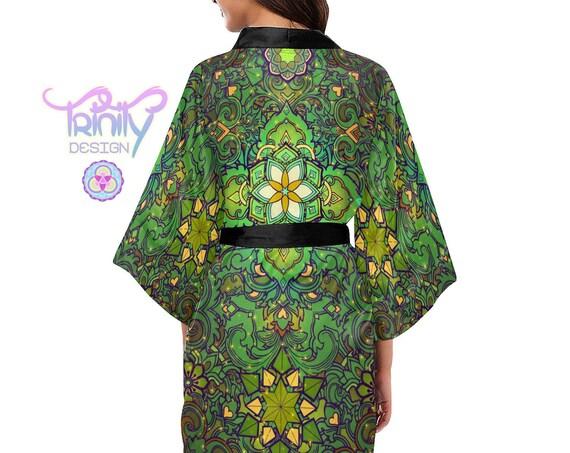 SACRED FLOWER Kimono Robe