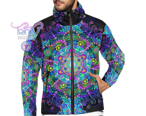METATRON TRIP Windbreaker Jacket Men