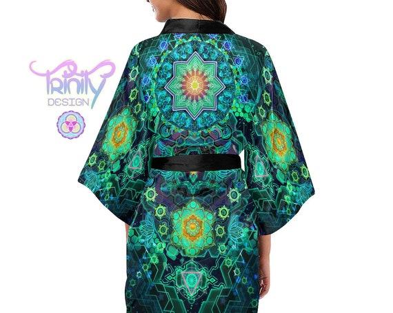SACRED PORTAL Kimono Robe