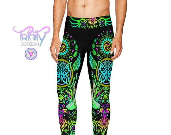 SACRED BUTTERFLY Men's Leggings