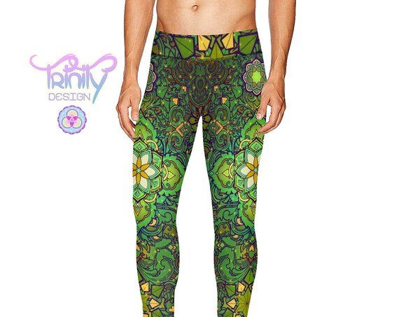 SACRED FLOWER Men's Leggings
