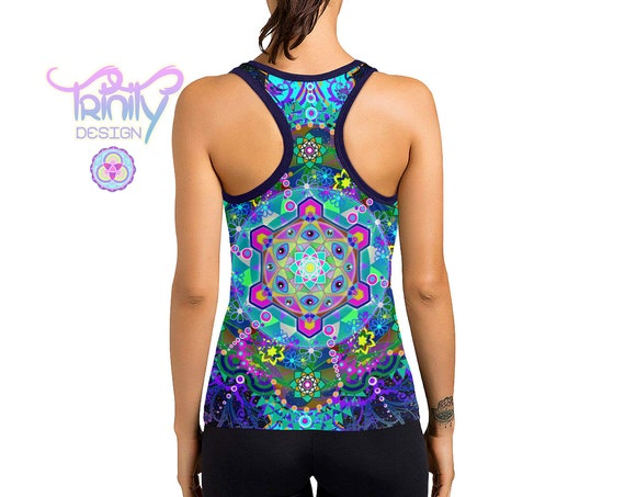 METATRON'S TRIP Racerback Tank Top Women
