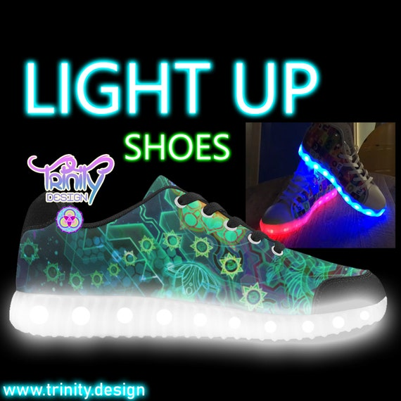 LIGHT Man Unisexe Custom Burning UP v chaussures 5q1vU