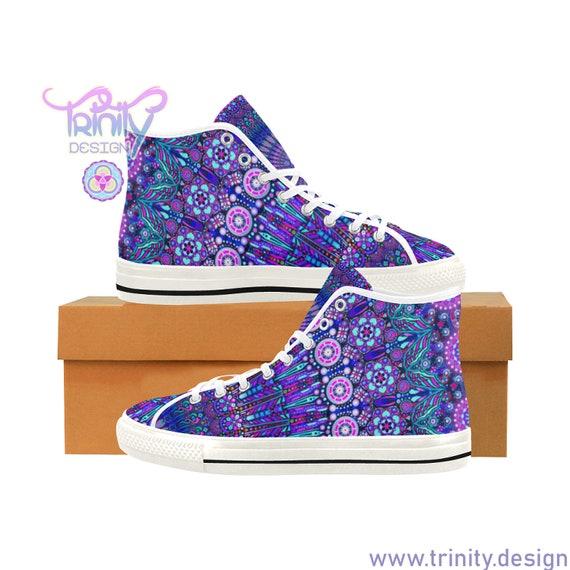 NU MANDALA High Top Sneakers Men