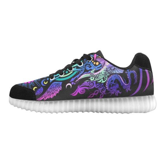 chaussures UP Unisexe LIGHT Custom v Man Burning waqpF