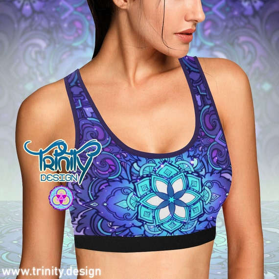 SACRED FLOWER Bra Top