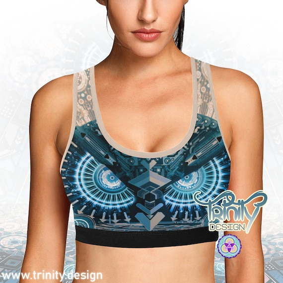 ALL SEEING OWL Bra Top