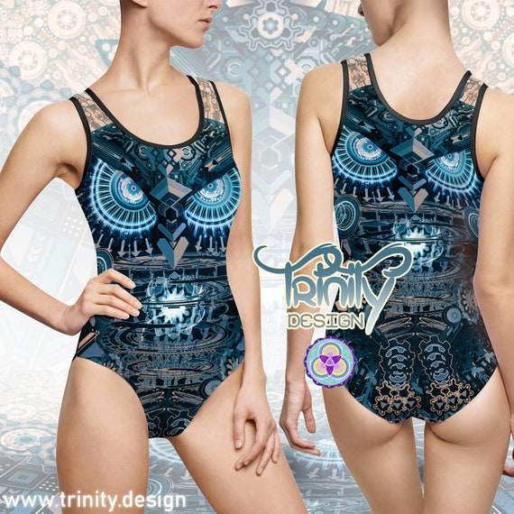 ALL SEEING OWL One Piece Swimsuit